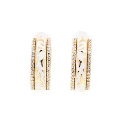 18KT Rose Gold Leo Wittwer 0.50 ctw Diamond Earrings