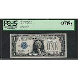 1928B $1 Funnyback Silver Certificate Note Fr.1602 PCGS Choice New 63PPQ