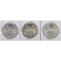 Lot of (3) 1985Mo Mexico Silver Libertad Coins