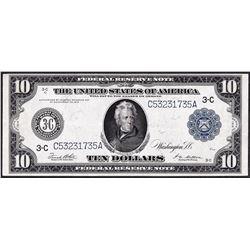 1914 $10 Federal Reserve Note Philadelphia