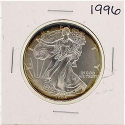 1996 $1 American Silver Eagle Coins Amazing Toning
