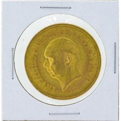 1955 Dominican Republic 30 Pesos Gold Coin