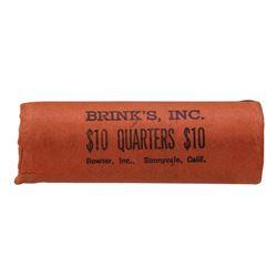 Roll of (40) 1962-D Brilliant Uncirculated Washington Quarters