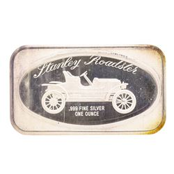Stanley Roadster Madison Mint .999 Fine Silver Art Bar
