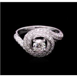14KT White Gold 1.67 ctw Diamond Wedding Ring