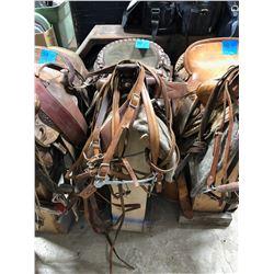 Saddle - Custom made by Eamors Saddlery