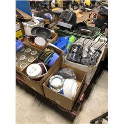 Miscellaneous kitchen and house supplies