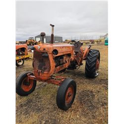 Allis-Chalmers D17 Diesel Tractor, Runs but needs restoration