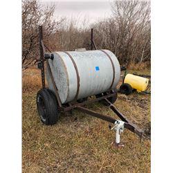 1000L Water Tank on Trailer