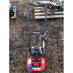 Lawn Trencher, shovels, whipper snippers, misc tools, wheel barrels
