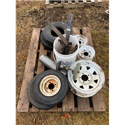Bench Grinder Wheels, rims and suspension parts
