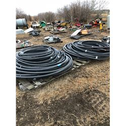 "Various lengths of and 1 1/2"" and 1 1/4"" and 1"" ABS Piping"