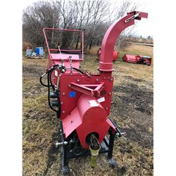 Wood Chipper, Model PC8H (made by Wood Chippers Canada) 3 pt hitch with hydraulic auto feed