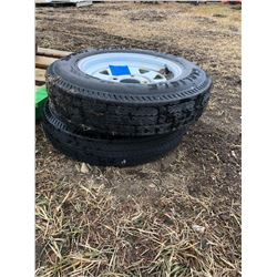 2 Sport Trail Tires with rims size 5.30-12