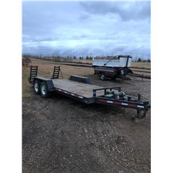 Double Axle Trailer with winch
