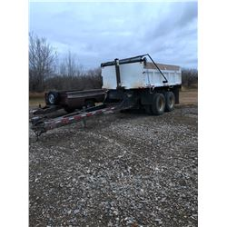 1976 Brantford Pup Trailer. Serial Number: CFB143700159. New paint, good rubber and roll up tarp. Sa