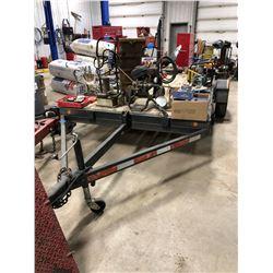 Single Axle Home Built Tilt Deck Utility trailer
