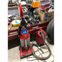 Dirt Devil Reaction D2 Electric Vacuum, Hoover Encore Shop Vac