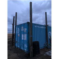 1 - 20 ft Square Wood Pole