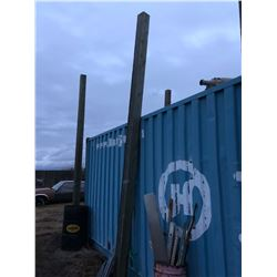 1 - 20 ft Square Wood Pole