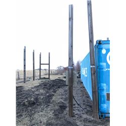 1 - 20 ft Square Wooden Pole