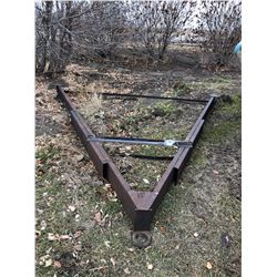 Mobile Home steel A Frame trailer attachment