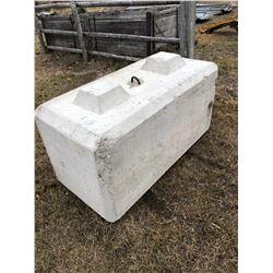 4000lb Concrete Block