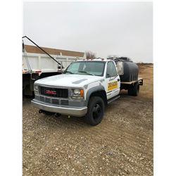 2000 GMC 3500 Deck Truck, SN 1GDKC34J1Y4F437434, 247140 kms