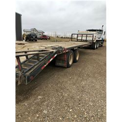 2007 31ft Trailtech Trailer, SN 2CU4CERN872022342, Safety good until July 2019