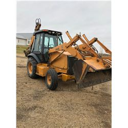 1998 Case Backhoe, 580L, All new pin and bushings, 5600 hours