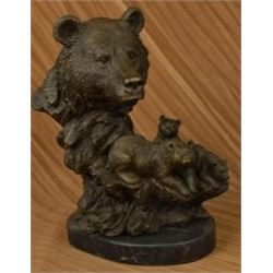 Grizzly Family Bronze