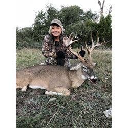 Combo Whitetail & Exotic Hunt for 2 Hunters in Texas