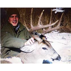 Trophy Whitetail Deer Hunt in Kansas