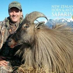 10-day New Zealand Big Game Safari for Three Hunters.