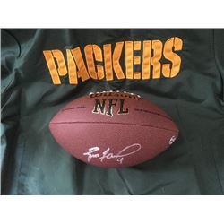 Brett Favre Autographed Football