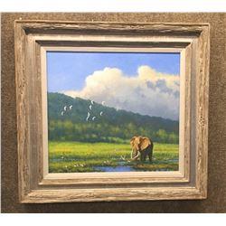 Original Painting by Artist Michael Sieve