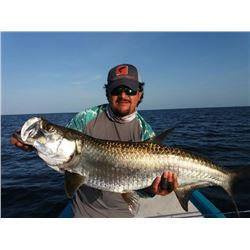 5-Day (3 days fishing, 4 nights) Fishing Trip in Campeche, Mexico for juvenile and baby Tarpon