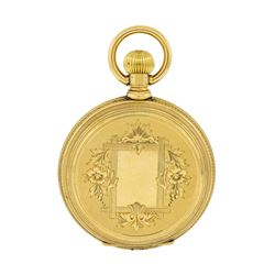 Vintage Elgin Pocket Watch - 14KT Yellow Gold