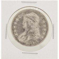 1814 Capped Bust Half Dollar Silver Coin
