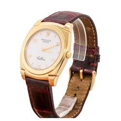 Rolex Men's Cellini Wristwatch - 18KT Rose Gold