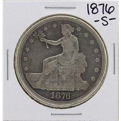 1876-S $1 Trade Silver Dollar Coin