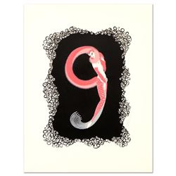 Numeral 9 by Erte (1892-1990)