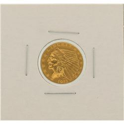 1913 $2.5 Indian Head Quarter Eagle Gold Coin