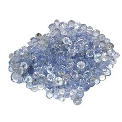 20.48 ctw Round Mixed Tanzanite Parcel