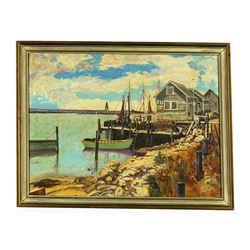 Original Oil on Canvas by Artist John A. Cahill