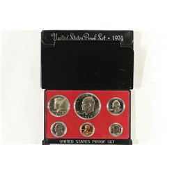1974 US PROOF SET (WITH BOX)