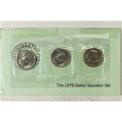 1979 P/D/S SBA DOLLAR SOUVENIR SET