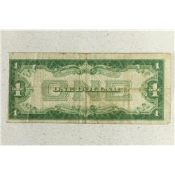 1928-A $1 SILVER CERTIFICATE FUNNY BACK BLUE SEAL