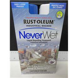 New Rust-Oleum Liquid Repelling Treatment / keep it dry & clean