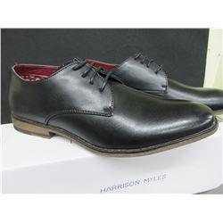 New Mens Harrison Myles black size 7 dress shoes